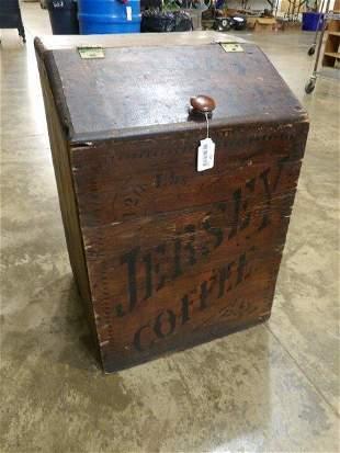 Primitive Jersey coffee box