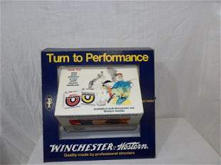 Winchester cardboard countertop rotating advertiser