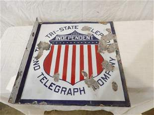 DSP Independent Tri-State Telephone Co. flange sign