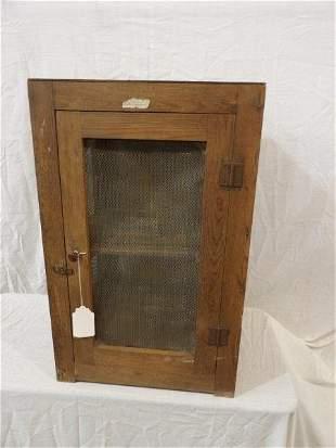 Sm. Primitive screened pie safe
