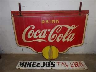DSP Drink Coca-Cola sign