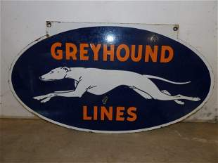Outstanding DSP Greyhound Lines sign