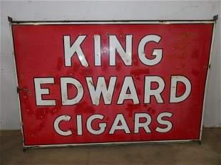 Lg. DSP King Edward cigars sign
