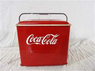 Poloron Products Coca-Cola cooler