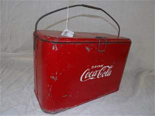 Unusual size Coca-Cola cooler