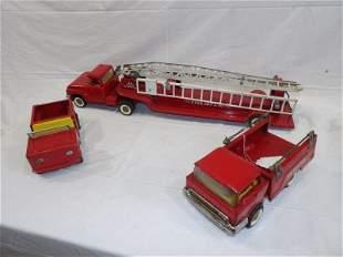 Structo Fire Dept. No. 49 3 piece set