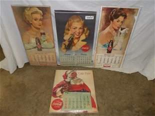 4-Coca-Cola & Royal Crown Cola complete calendars