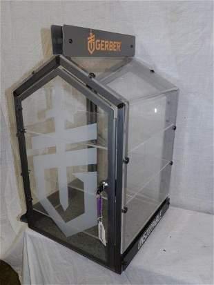 Like new Gerber knife display case