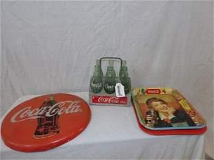 Four piece Coca-Cola lot