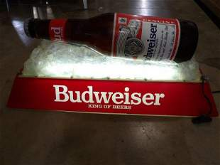 Acrylic Budweiser billiard light