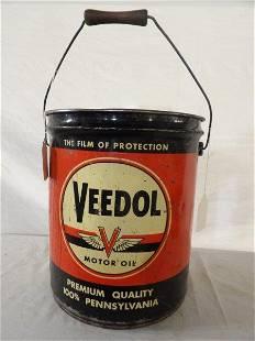 Veedol Motor Oil 5 gallon bucket