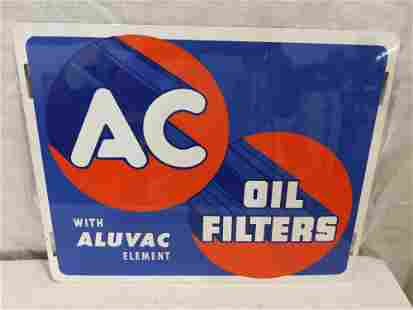 SST AC Oil Filters sign. NOS