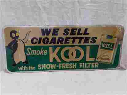 SST Kool Cigarettes sign