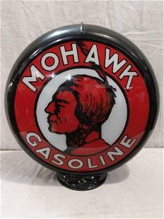 Reproduction Mohawk gasoline lenses in Capco body