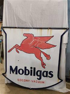 Large DSP Mobilgas sign