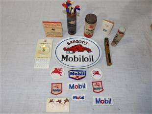 A lot of various Mobil items