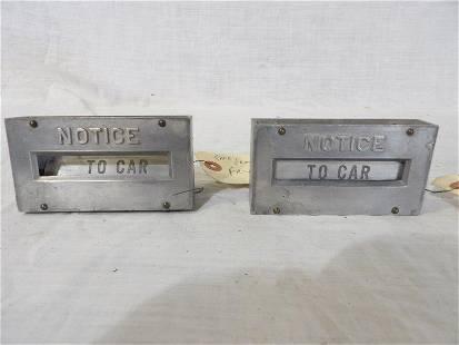Rare Fry Mae West gas pump parts