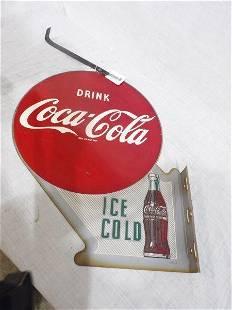DST Coca-Cola flange sign