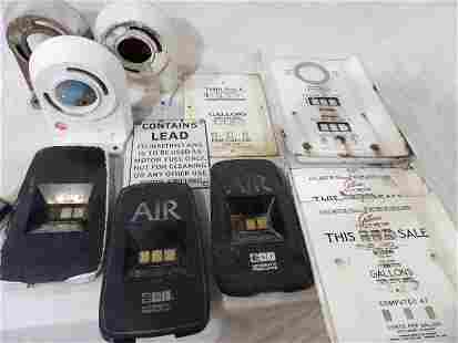 Lot of gas pump and air meter parts
