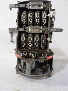 Veeder-Root 101 gas pump meter mechanism