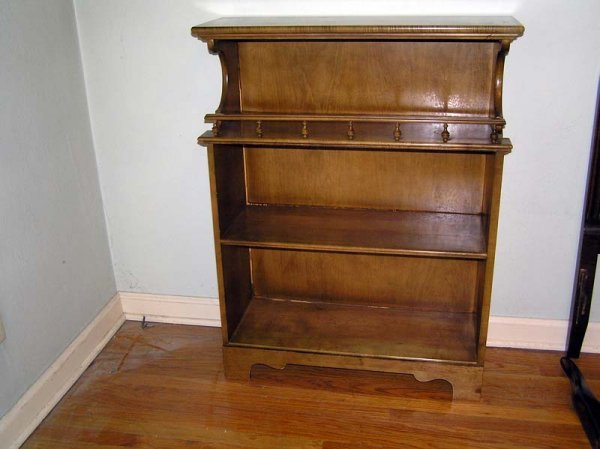 8: Wood Bookcase