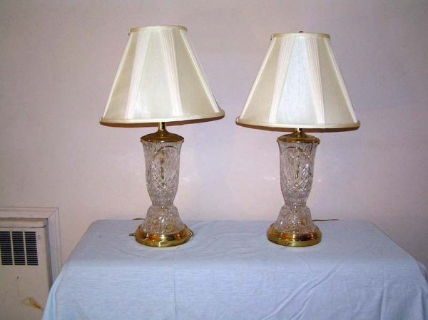 12: Crystal Lamps