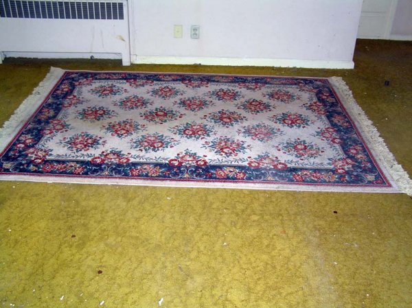 "24: Floral Rug 67""by 98"""
