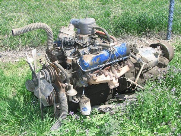 1720: Ford 330 V-8 Engine w/ Allison Transmission