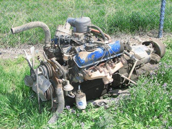 1720: Ford 330 V-8 Engine w/ Allison Transmission