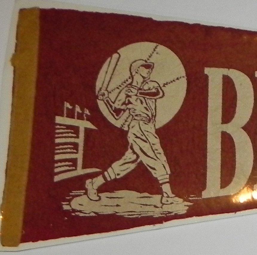 1950's Brooklyn Dodgers Baseball Pennant - 2
