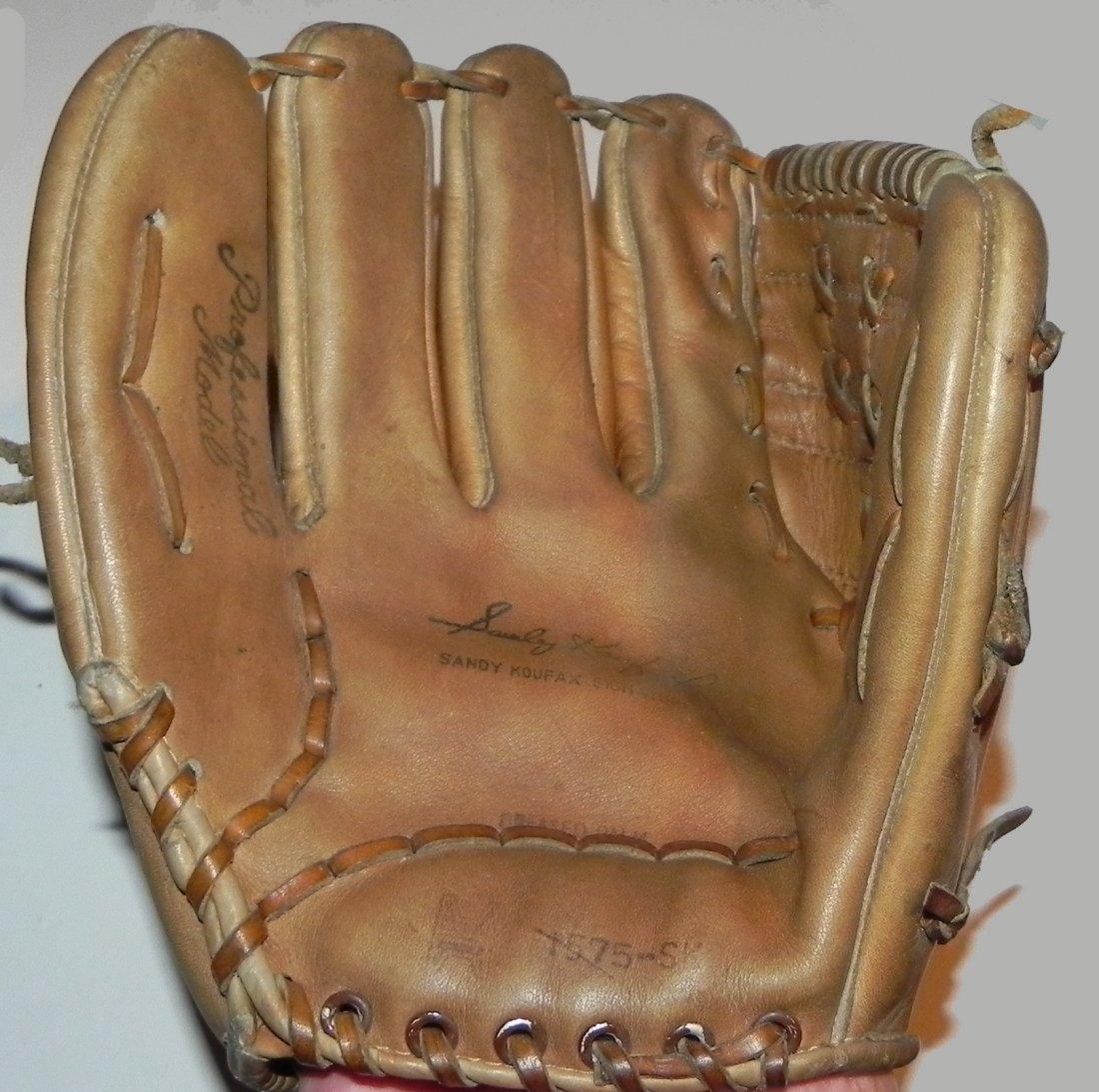 Group of 4 Vintage Sandy Koufax Dodgers Baseball Gloves - 2