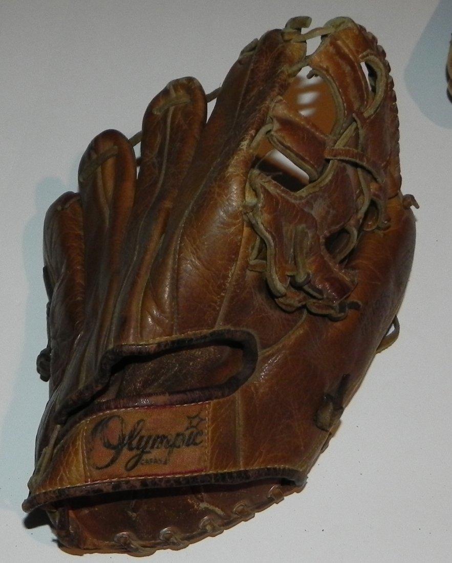 Group of 4 Vintage Sandy Koufax Dodgers Baseball Gloves - 7