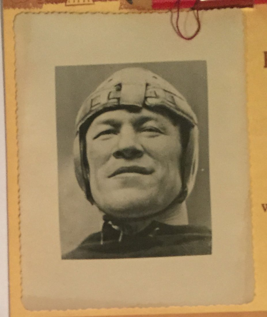 Vintage 1961 Jim Thorpe Football Themed Calendar - 2