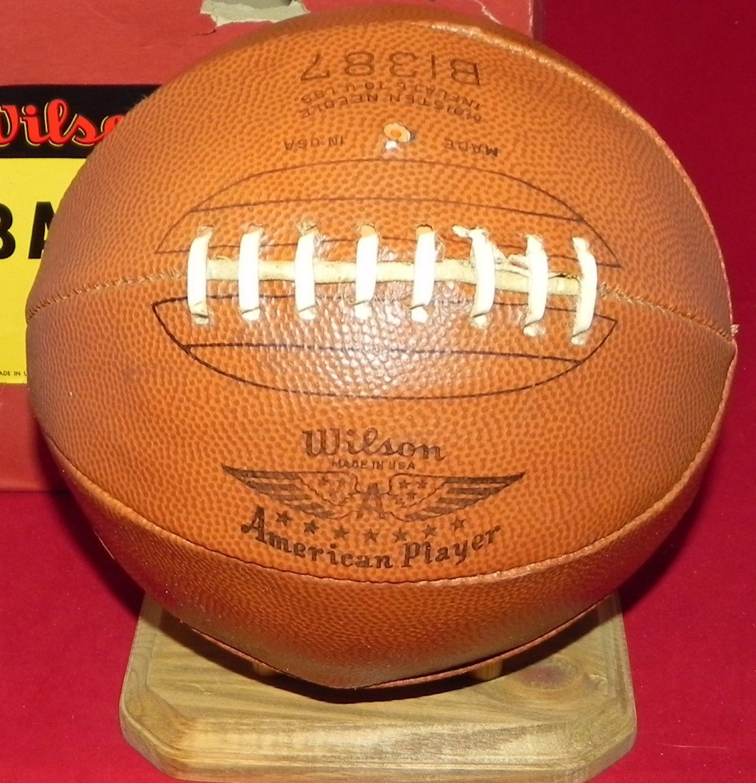 Antique Early 1930's Wilson Laced Basketball with Box - 2