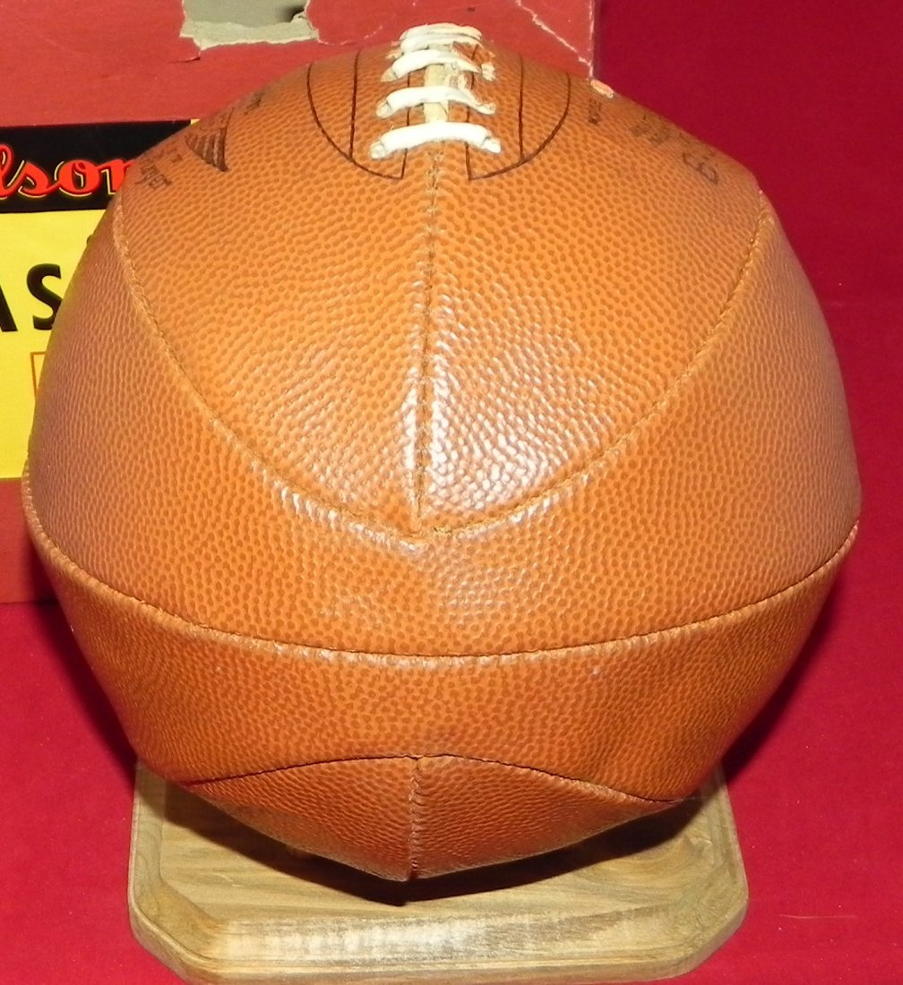 Antique Early 1930's Wilson Laced Basketball with Box - 3