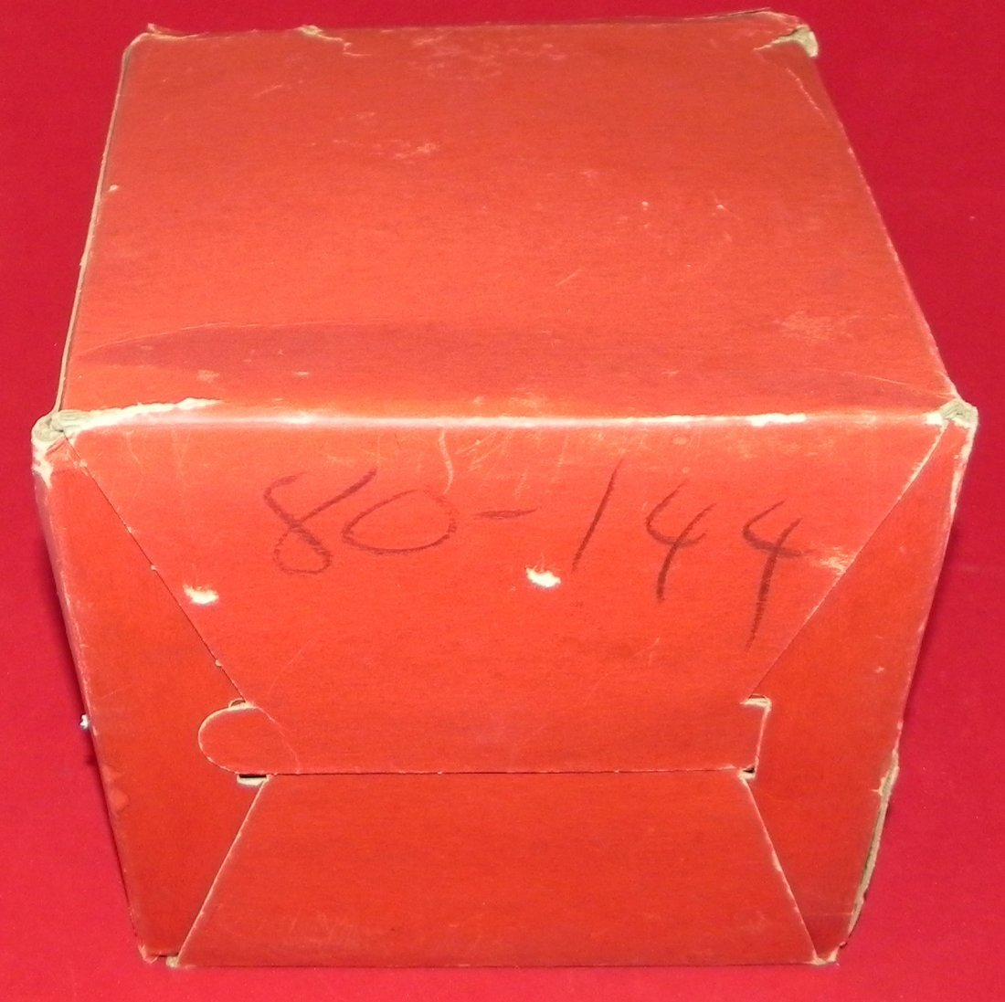 Antique Early 1930's Wilson Laced Basketball with Box - 7