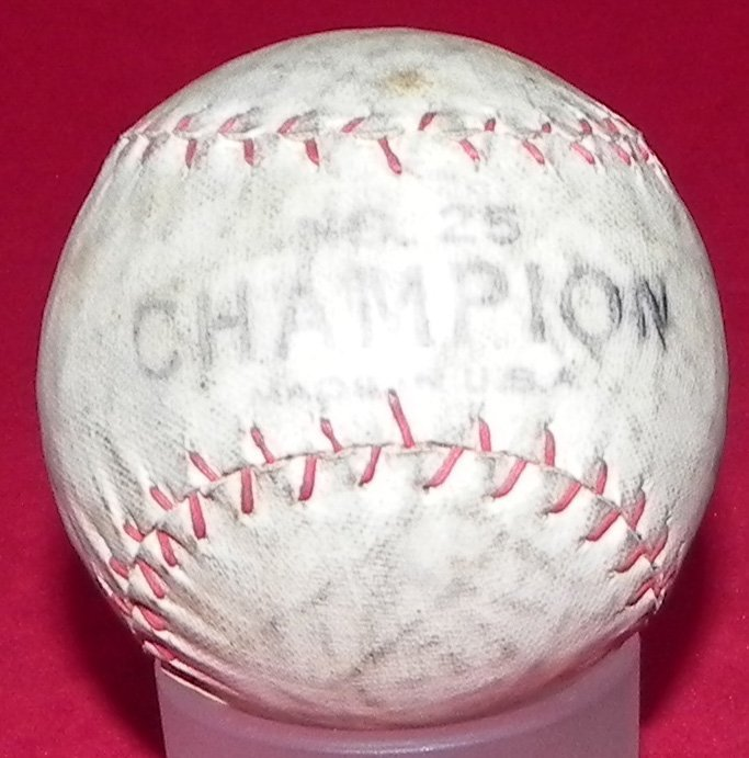 Circa 1930's Tober Baseball Box and Champion Model Ball - 5