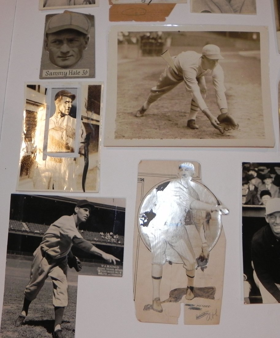 Lot of 15 Philadelphia Athletics Press Photos 1916-1943 - 3