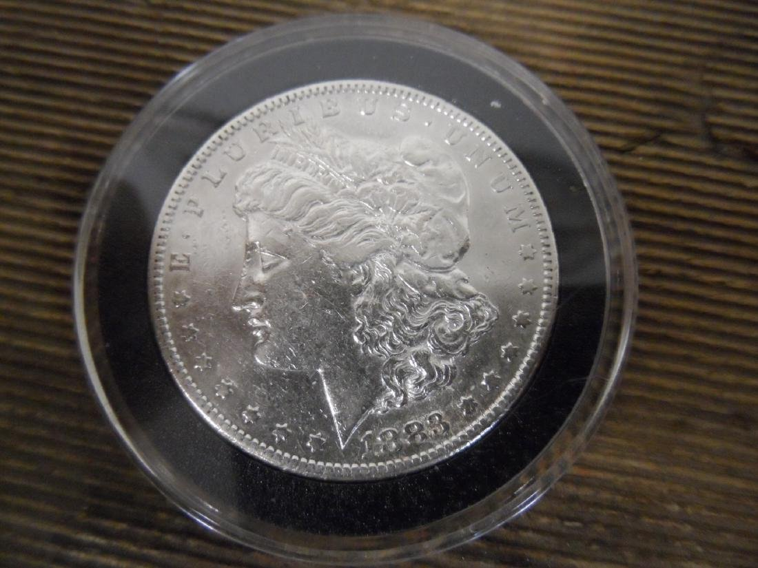 1883 S Morgan Silver Dollar