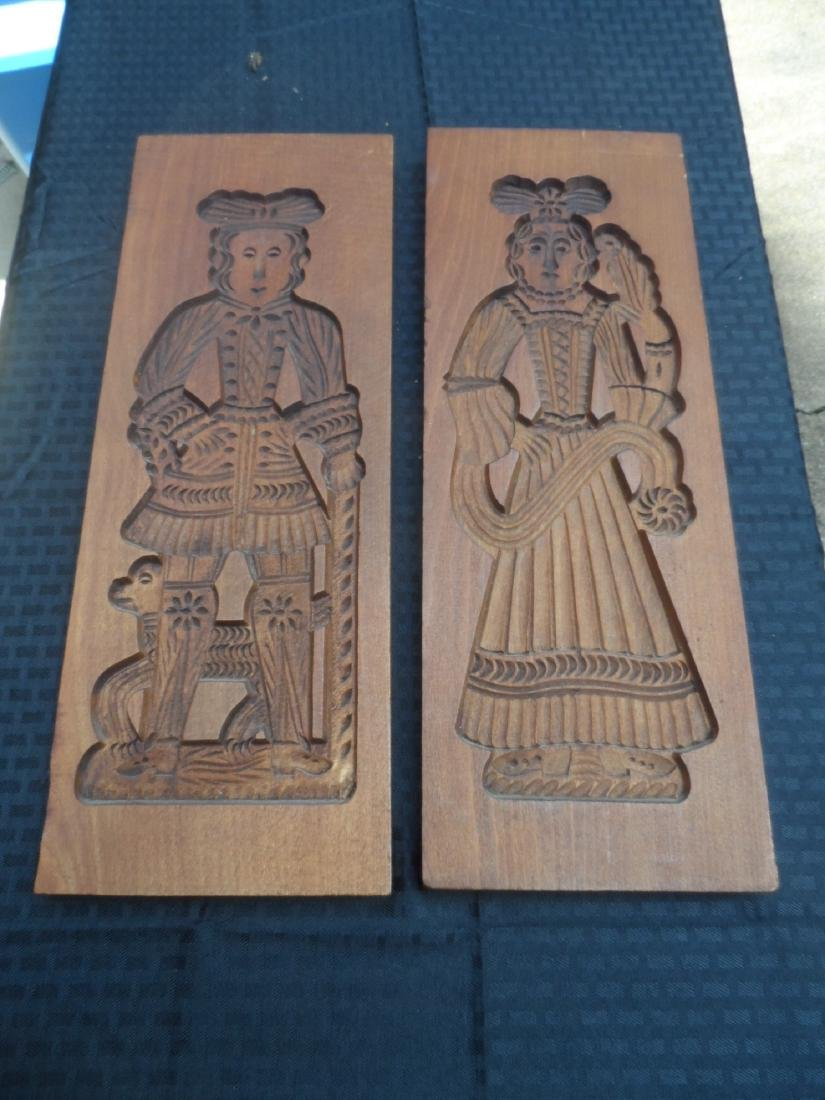 Lot of 2 vintage chocolate molds