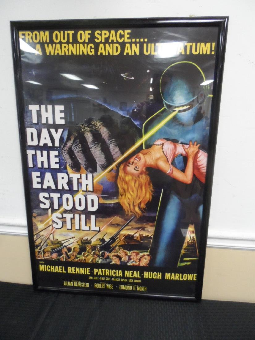 "New Movie poster, ""The Day The Earth Stood Still"""