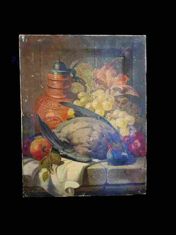 Antique Charles Thomas Bale 18491925 Oil On Canvas