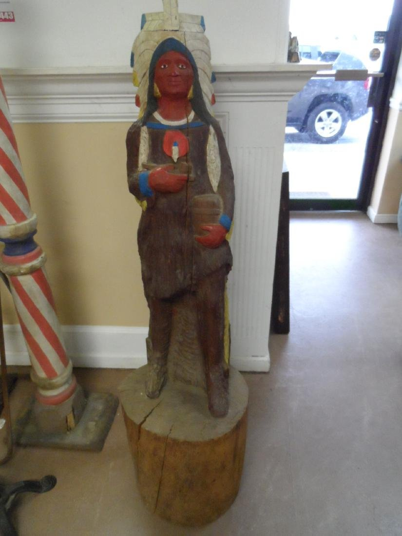 Early Cigar Store Indian