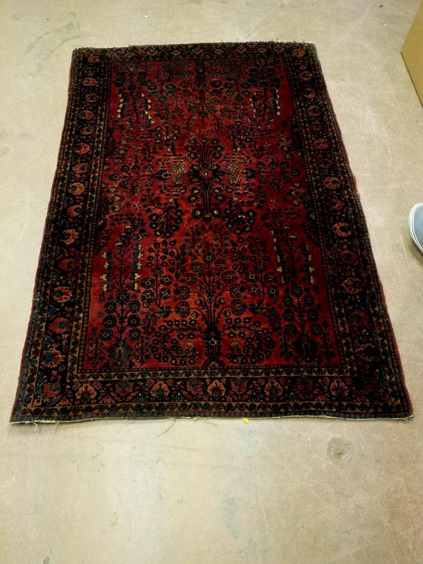 Antique Handknotted Persian Rug