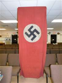 Authentic WWII Nazi Building Banner Flag