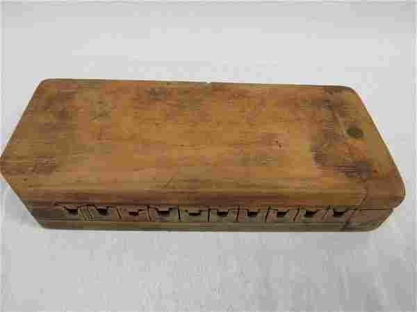 Antique Wooden Cigar Mold