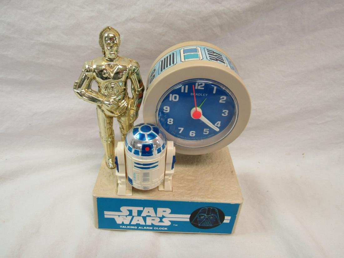 1980 Star Wars Talking Alarm Clock