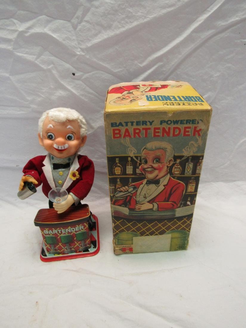 Vintage Tin Toy, The Bartender