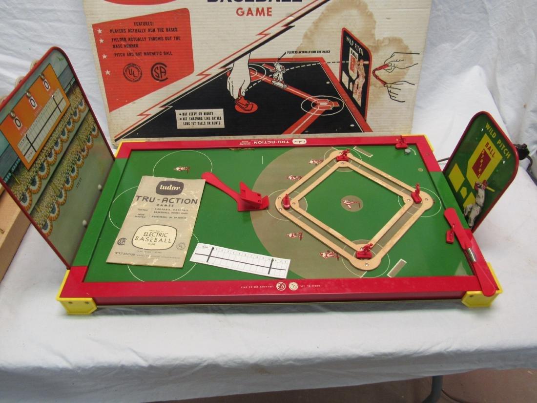 1960's NOS Tru-Action Electric Baseball Game