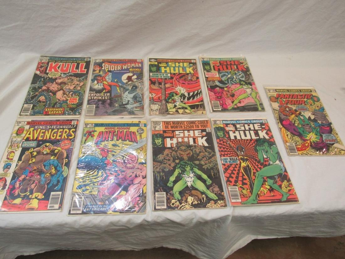 Lot of Vintage Marvel Comics